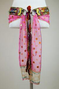 Mini-Sarigürtel-Paradise-Bunt-Pink